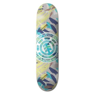 Element Skateboards Nigel Cabourn Seal Skateboard Deck - 8.25