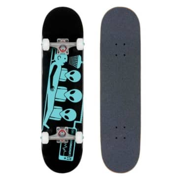 Alien Workshop Abduction Black Complete Skateboard - 7.75""