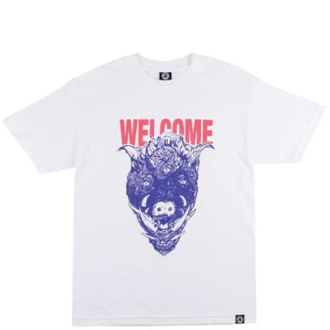 Welcome Skateboards Hog Wild T-Shirt - White