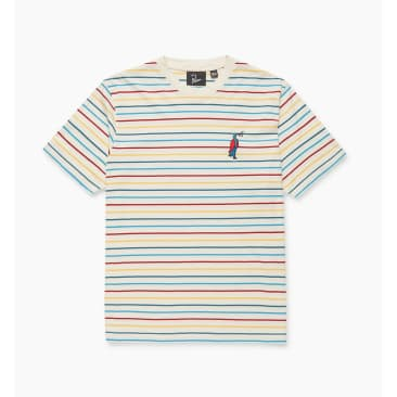 by Parra Staring Striped T-Shirt - Multi