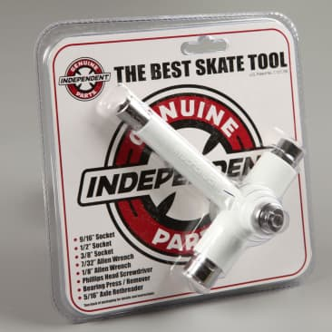 Independent 'Genuine Parts' Skate Tool (White)
