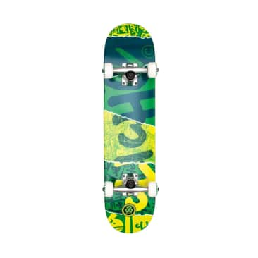 Cliche Ripped Green Complete Skateboard - 7.00 (Mini)