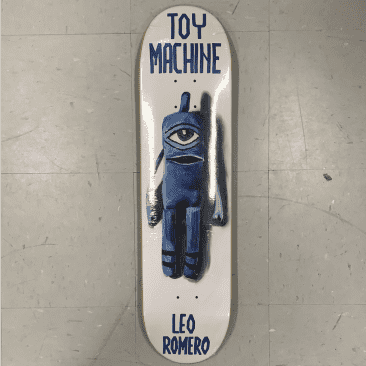 Toy Machine Skateboards Romero Sock Doll Deck 7.88