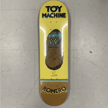 Toy Machine Skateboards Romero Pen N Ink Deck 8.38