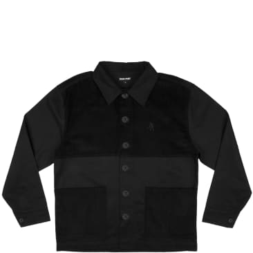 Pass~Port Cord Patch Jacket - Black