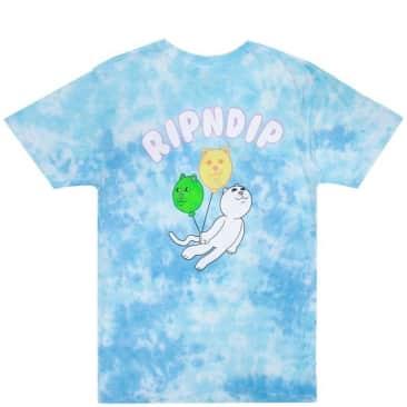 Ripndip Drifting Away T-Shirt - Blue Tie Dye