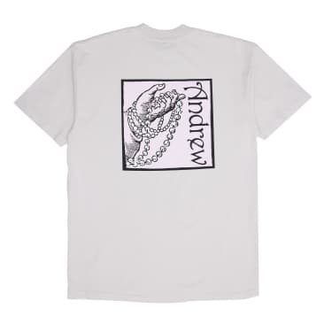Andrew - Rags to Riches Tee - Cement