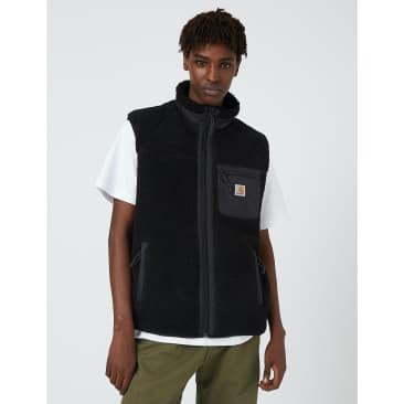 Carhartt-WIP Prentis Fleece Vest - Black