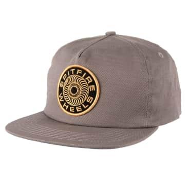 SPITFIRE Classic 87 Swirl Snapback Hat Charcoal