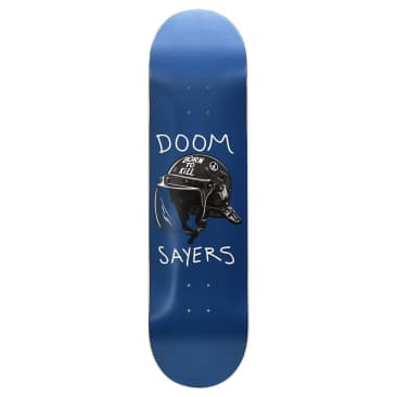 "Doom Sayers - Riot Helmet Navy 8.4"" (Shovel nose)"