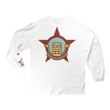 Robot Star L/S T-Shirt