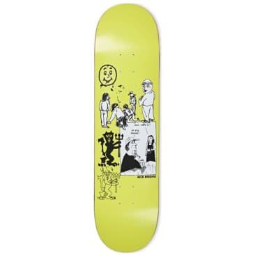 "Polar Nick Boserio Year 2020 Moss Green Skateboard Deck - 8.75"""