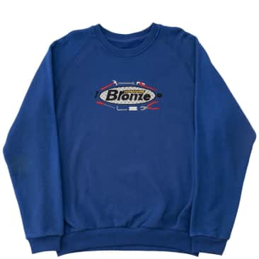 Bronze 56k Tool Time Crewneck Sweatshirt - Royal Blue