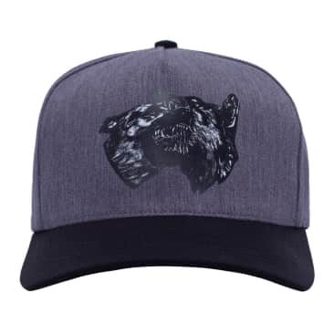Fucking Awesome Dogs Snapback Cap - Grey