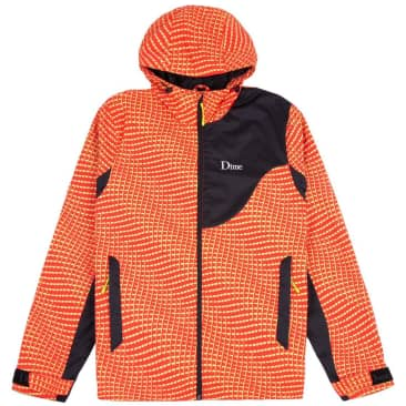 Dime Warp Shell Windbreaker - Red