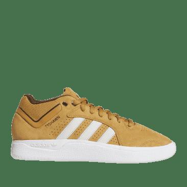 adidas Skateboarding Tyshawn Shoes - Mesa / Chalk White / Dark Brown