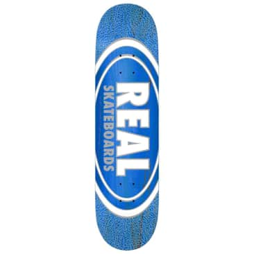 "Real Skateboards - Oval Pearl Pattern Deck 8.06"" Wide"