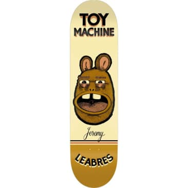 Toy Machine Leabres Pen N Ink Deck (8.25)