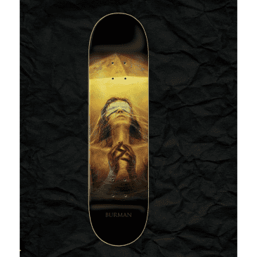 "Zero - Burman Light And Dark Deck (8.25"")"