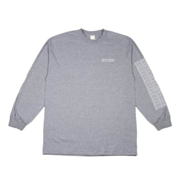 Studio Sport Block L/S T-Shirt - Heather Grey
