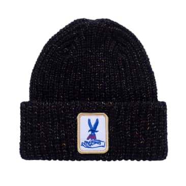 Fucking Awesome Beanie Hawk Speckle Black