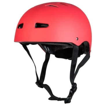 Sushi Skateboard Helmet Size Adjuster: Lock-In System Matte Red L/XL