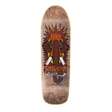 New Deal Mike Vallely Brown Skateboard Deck - 9.5