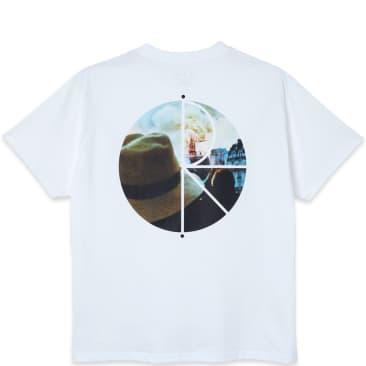 Polar Skate Co. Notre Dame Fill Logo T-Shirt - White