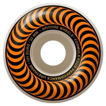 Spitfire Formula Four Classic Wheel Orange 97DU 53mm