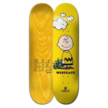 "Element Skateboards Peanuts Charlie Brown x Westgate 8.0"" Skateboard Deck"