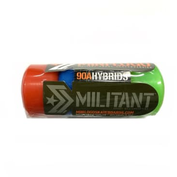 Mini-Logo Militant Hybrid A-Cut Assorted 53mm 90a