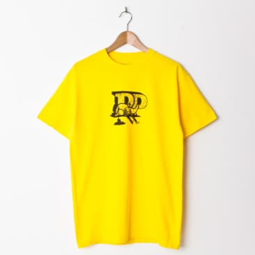 Pass~Port Tools Down T Shirt Yellow