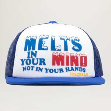 Icecream Mind Trucker Hat (White)