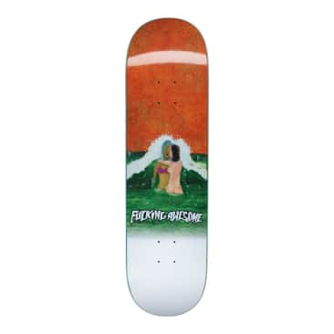 """Fucking Awesome Deck Wave Painting 8.25"""""""