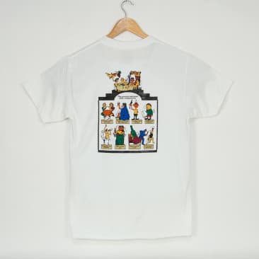 Pass Port Skateboards - Trickle Down T-Shirt - White