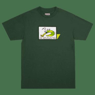 Frog Skateboards Classic Frog Logo T-Shirt - Forest Green