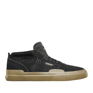 Emerica Pillar Skate Shoes - Black / Gum