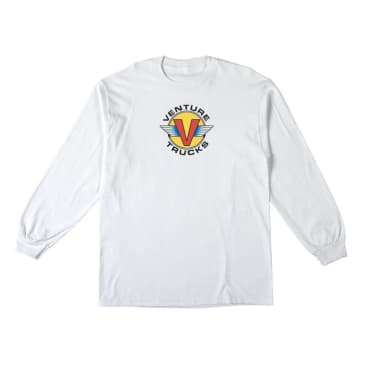 Venture Wings L/S T-Shirt (White/Multi)