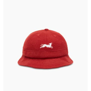 by Parra - jumping fox bell bucket hat