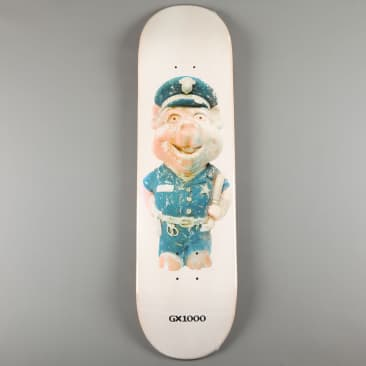 """GX1000 'Pig - One' 8.375"""" Deck (White Stain)"""