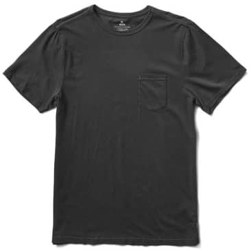Roark Well Worn Lightweight Organic T-Shirt - Black