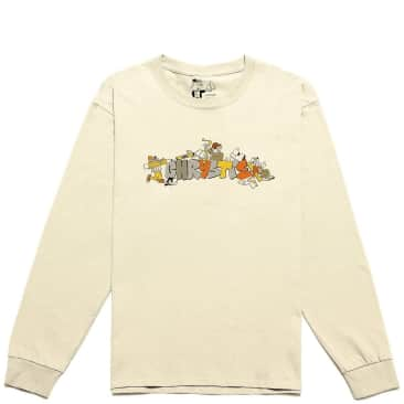 Chrystie NYC NYC Workers Long Sleeve T-Shirt - Natural
