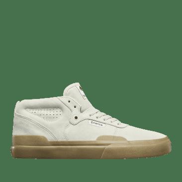 Emerica Pillar Skate Shoes - White / Gum