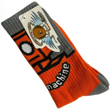 Toy Machine Socks Robot Orange