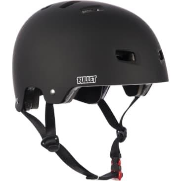 Bullet Deluxe Skateboard Helmet T35 - Matt Black