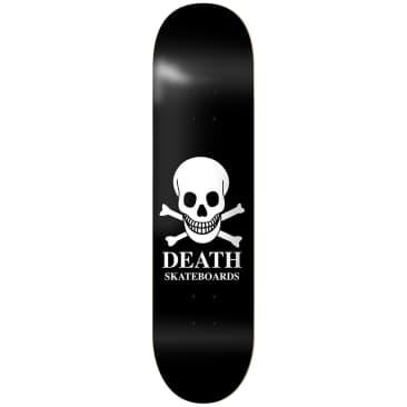 """Death OG Skull Deck Black - 7.75"""""""