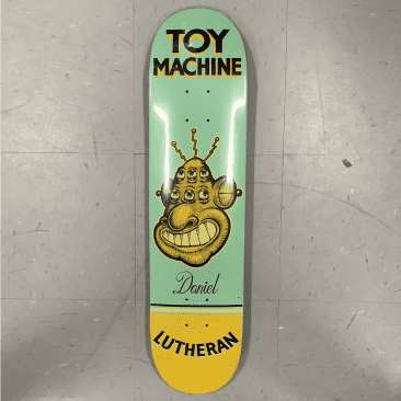Toy Machine Skateboards Lutheran Pen N Ink Deck 7.75