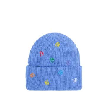 Fucking Awesome Scattered Fa Cuff Beanie, violet