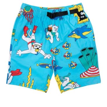 Ripndip Under The Sea Swim Shorts - Blue