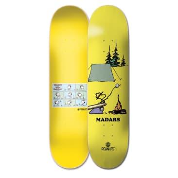 """Element Skateboards Peanuts Madars Apse x Woodstock 8.25"""" Skateboard Deck"""